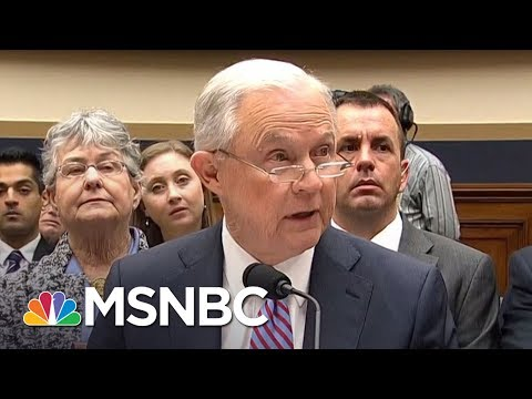 There's A Lot Jeff Sessions Can't Recall | Hardball | MSNBC