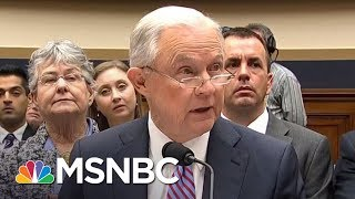 There's A Lot Jeff Sessions Can't Recall | Hardball | MSNBC Free HD Video