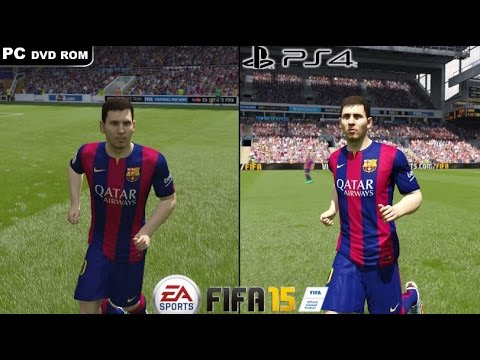 fifa 15 pc vs ps4 1080p youtube. Black Bedroom Furniture Sets. Home Design Ideas