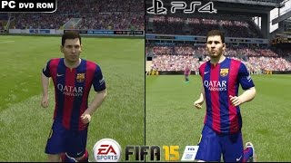 FIFA 15 - PC VS PS4 - 1080P