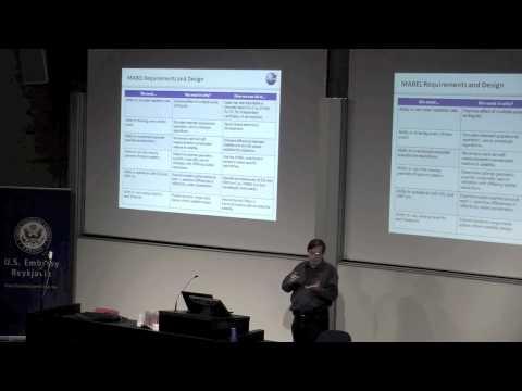 NASA Visit & Lecture at Reykjavik University