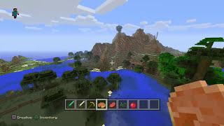 Minecraft PS4 GAMEPLAY - PlayStation 4 Minecraft Creative Mode