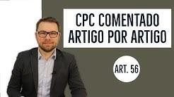 CPC COMENTADO - Art. 56 - Continência