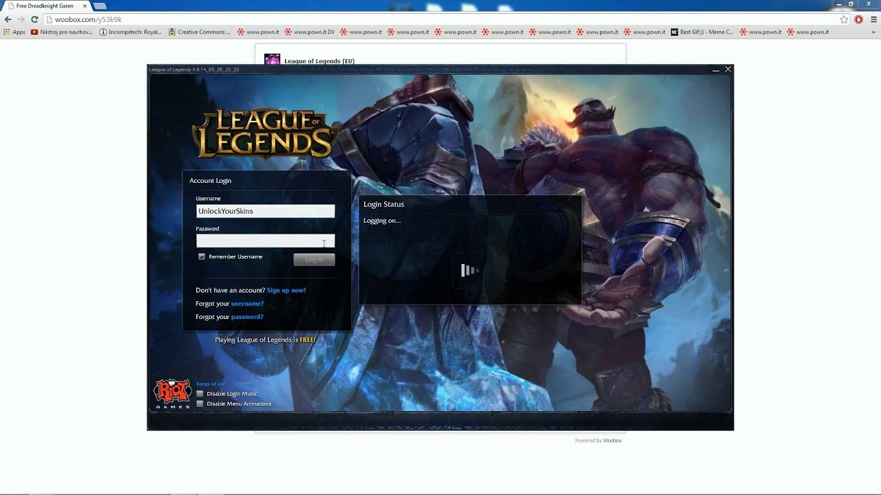 [Step By Step Guide] FREE Champion Skin And FREE Garen [Works]   League Of  Legends