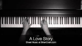 Brian Crain - A Love Story (Overhead Camera)