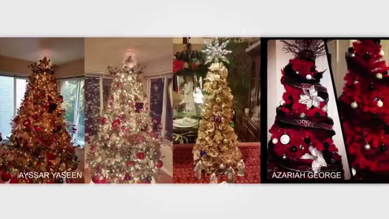 Interior Designers Christmas Decorating Ideas From Viewers Youtube