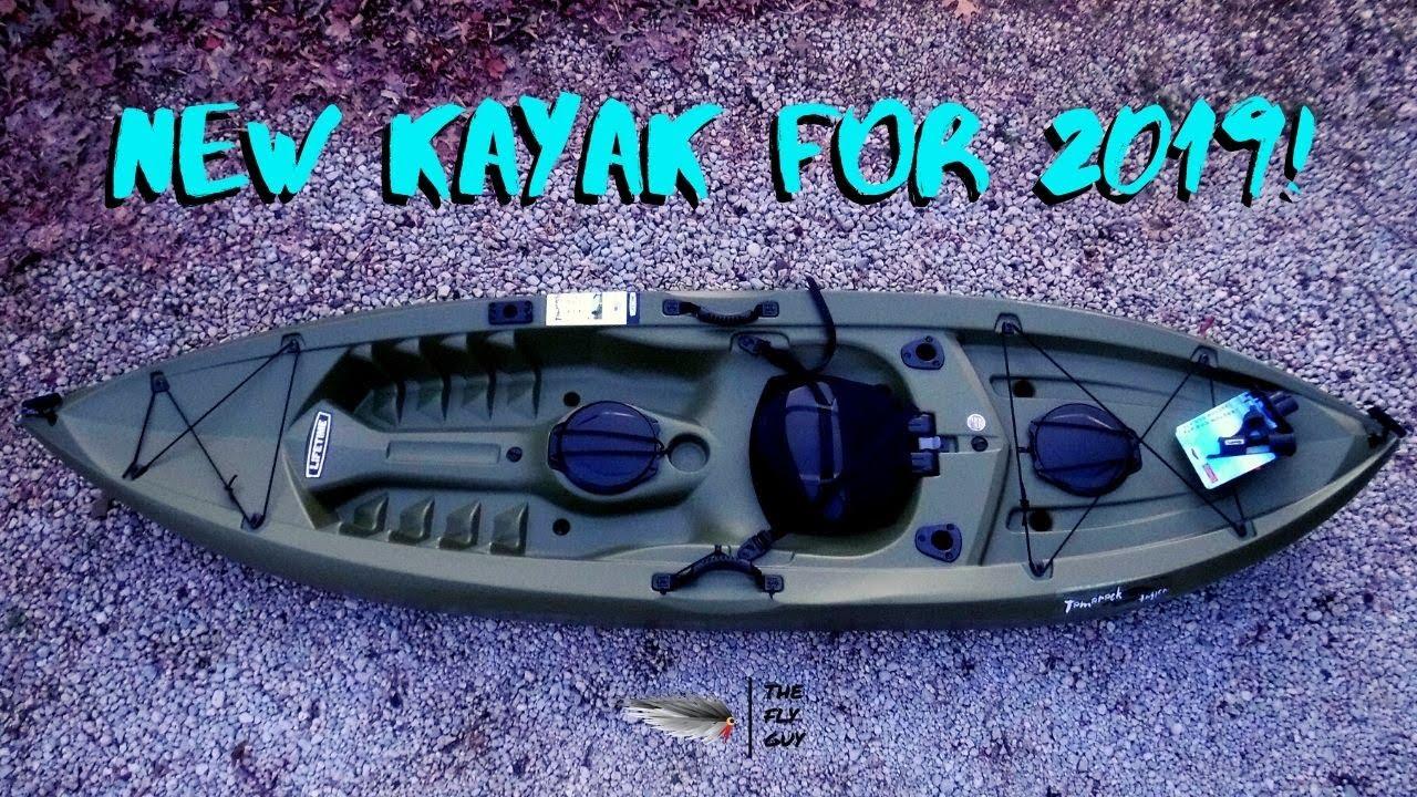 Lifetime Tamarack Angler Sit-On-Top Kayak 10' - New Yak for the 2019  Season! - The Fly Guy