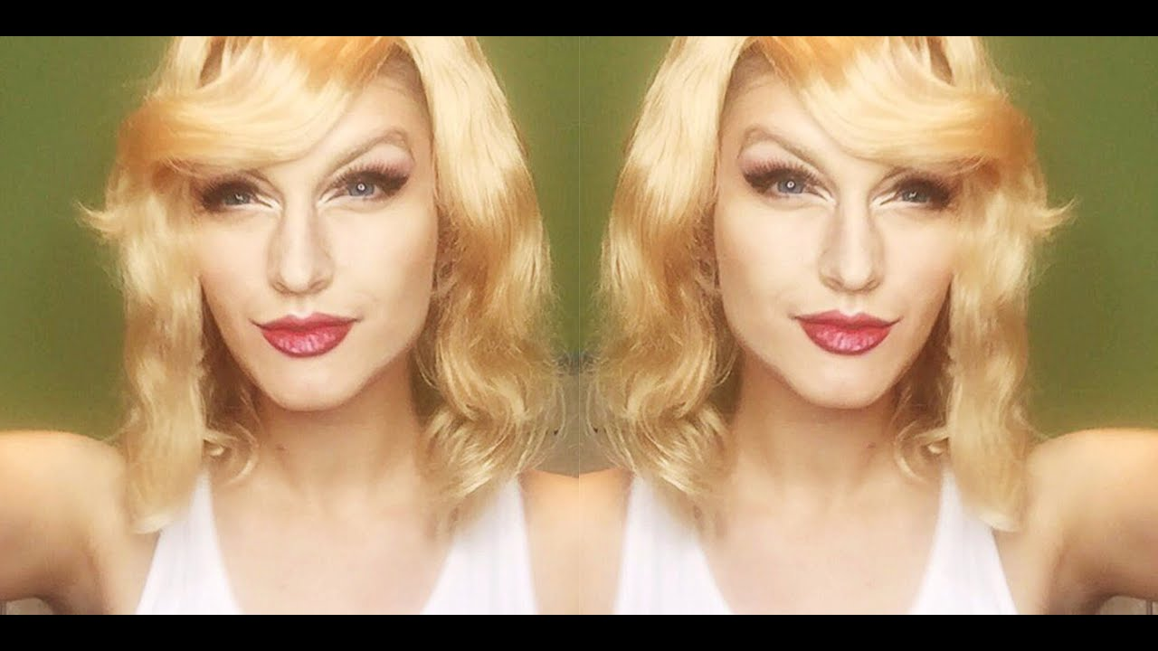 Taylor Swift Inspired Makeup Transformation Youtube