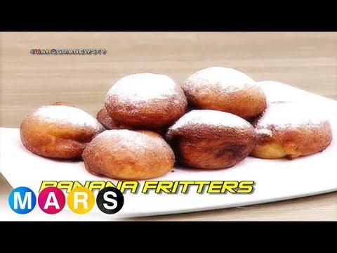 Mars: Banana Fritters By Ashley Ortega   Mars Masarap
