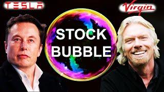 Tesla & Virgin Galactic A Parabolic Bubble - Stock Market Investing