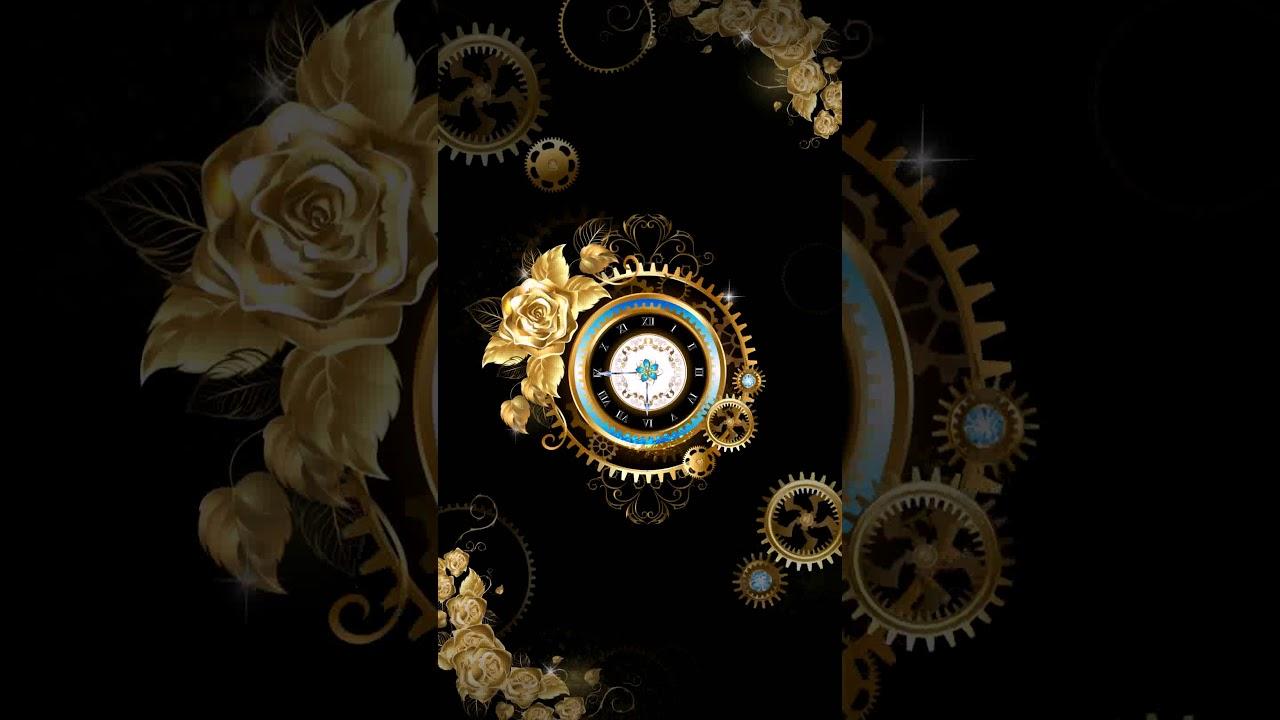 Samsung Theme Live Wallpaper Royal Clock Youtube