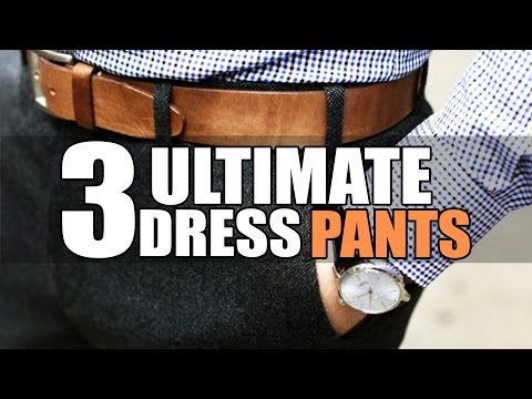 3 ULTIMATE DRESS PANTS for Men | 3 Formal Pants Every Man MUST OWN | Mayank Bhattacharya