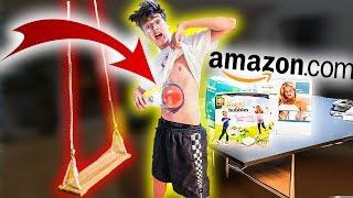 Ich teste VERRÜCKTE AMAZON Produkte! **geht schief**