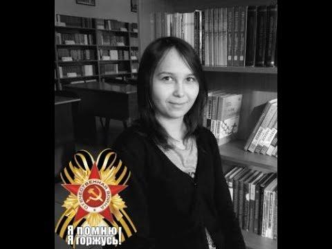 Изображение предпросмотра прочтения – АминаЖолдыбаева читает произведение «Птицы смерти в зените стоят» А.А.Ахматовой