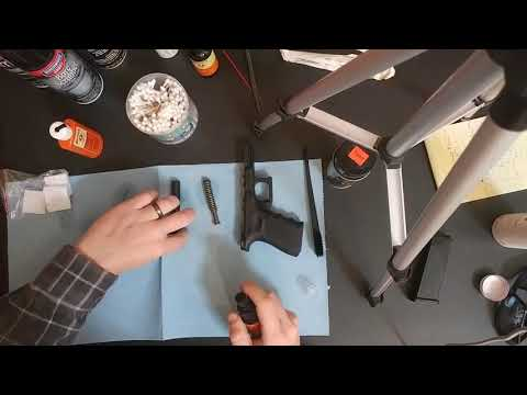Video#1 Quick Glock/ Pistol cleaning tutorial by Pale Rider