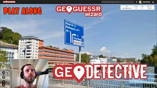 Geoguessr - Geodetective - 2 minutes per round! [PLAY ALONG]