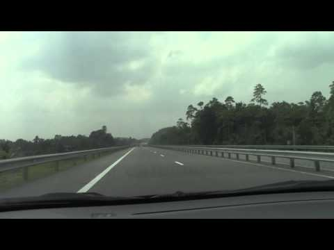Driving on New Dhaka--Chittagong Express Highway 2013
