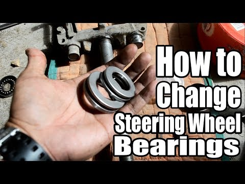 Yamaha Mio Sporty: How to change Steering Wheel Bearing | Ball Race Bearing | Vlog