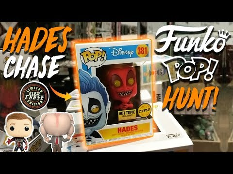 Hades Chase Funko Pop Hunt! (3 CHASES, EXCLUSIVES)