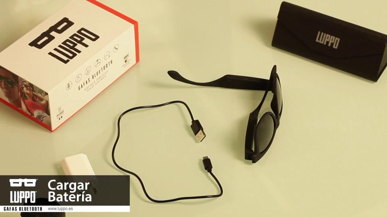 b79f9a8079 De Gafas Youtube Sol Bluetooth LuppoBatería mN8nwvO0