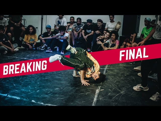 DFLAVOUR vs HAMIDOU ♣ 1vs1 Breaking Final | Breakreate X Urban Whyz Festival 2018