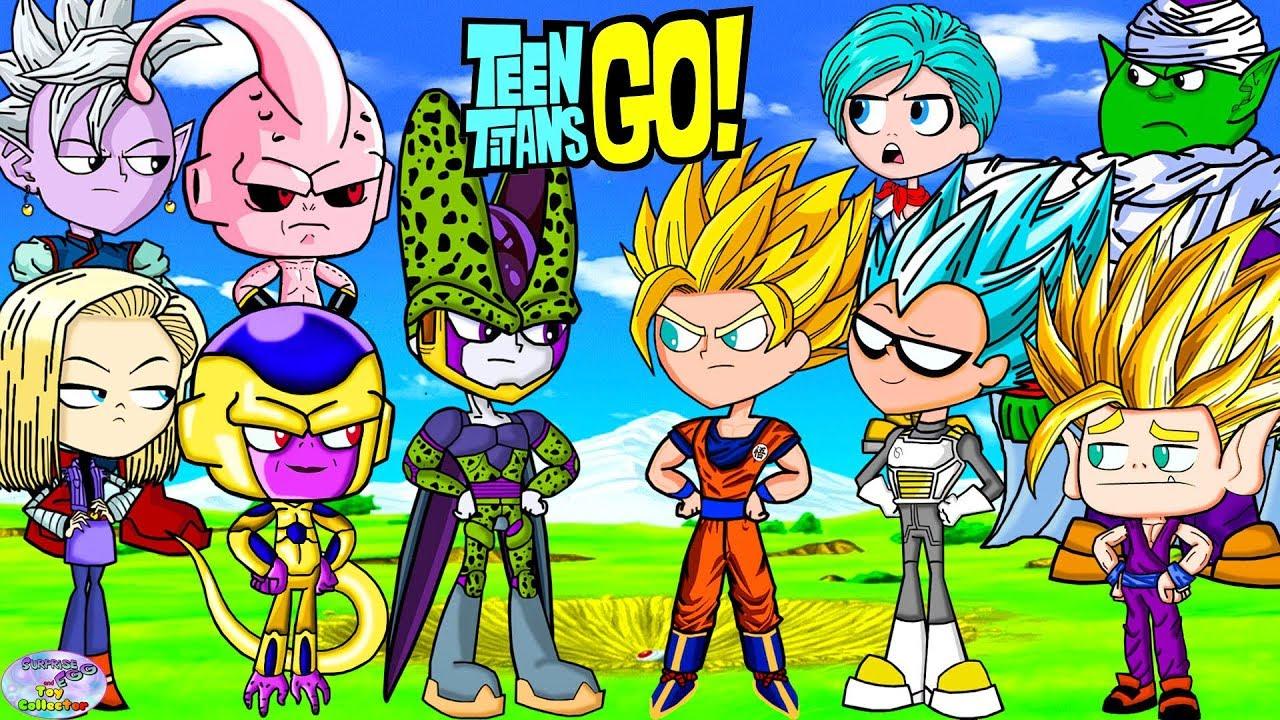 Download Teen Titans Go! Color Swap Dragonball Z Super Goku Vegeta Surprise Egg and Toy Collector SETC
