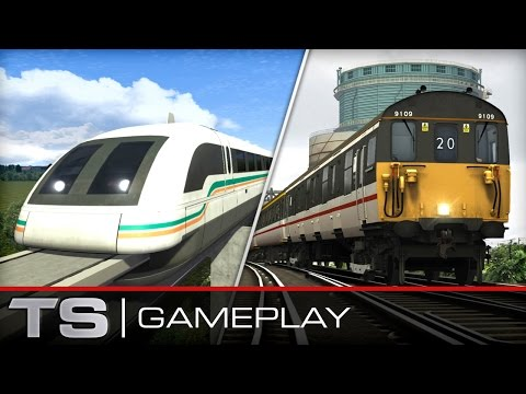 Train Simulator 2016 Gameplay: Shanghai Maglev and BR Class 73 'Gatwick Express'