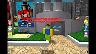 ROBLOX | ObliviousHD Roleplay World | VIP Room Glitch
