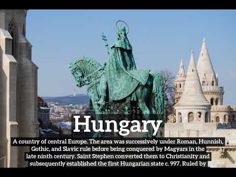 What is Hungary? | How Does Hungary Look? | How to Say Hungary in English?