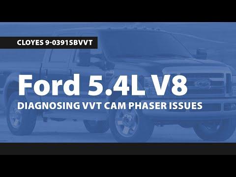 Diagnosing VVT Cam Phaser Issues on Ford 5.4 Liter V8 Engines