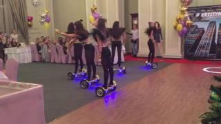 Экстрим шоу-балет на гиробордах. ГИРОСКУТЕРЫ Одесса