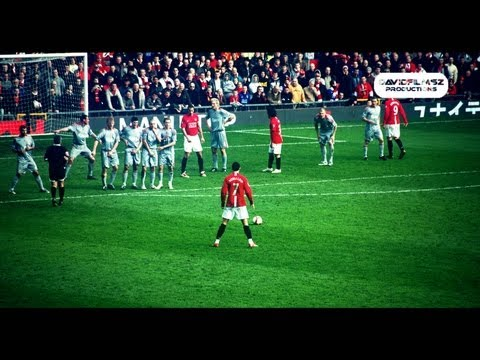 Cristiano Ronaldo - Top 10 Free Kicks/Goals 2004/13 - HD Real Madrid & Manchester United