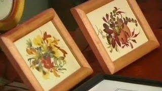 Как сделать картины из растений (флористическая живопись). Мастер класс