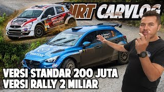 RIFAT SUNGKAR BEDAH MOBIL RALLY AP4 | GARAGE TOUR | DIRT CARVLOG #59