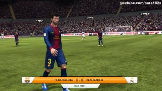 FIFA 13: FC Barcelona vs Real Madrid (Full Game)