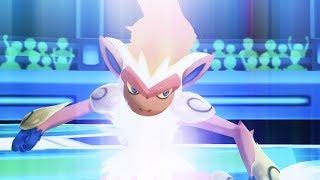 Pokemon Ultra Sun and Ultra Moon Wi-Fi Battle: Infernape is the Best Starter!! (1080p)