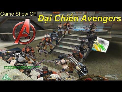 Game Show CF   Avengers Đại Chiến   TQ97