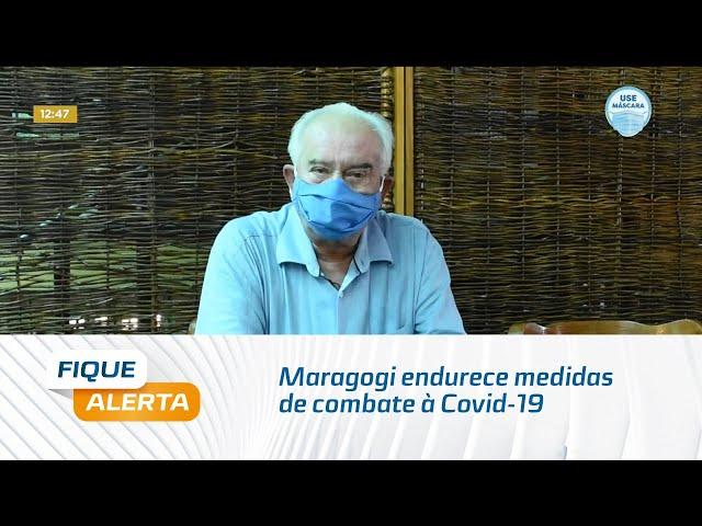 Maragogi endurece medidas de combate à Covid-19