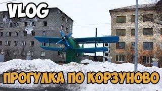 VLOG  Прогулка по Корзуново