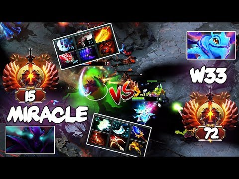 EPIC Liquid Battle - Liquid.Miracle Spectre vs Liquid.w33 Puck - Who will get the Rampage? Dota 2