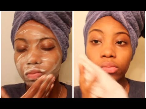 Minivideo| AFRICAN BLACK SOAP - My Daily Skin Care Routine