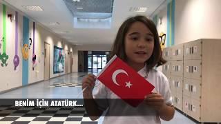 """Alkev Öğrencileri """"benim Için Atatürk…"""""""