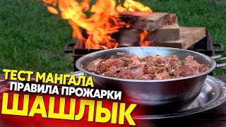 Как правильно жарить шашлык: тест мангала мясом на 3 кг!