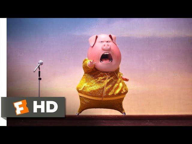 Sing - Open the Doors Scene (Ditransitive Verbs Practice)