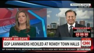 Recess Rage Voters Erupt at GOP Town Halls  Is it just like the Tea Party