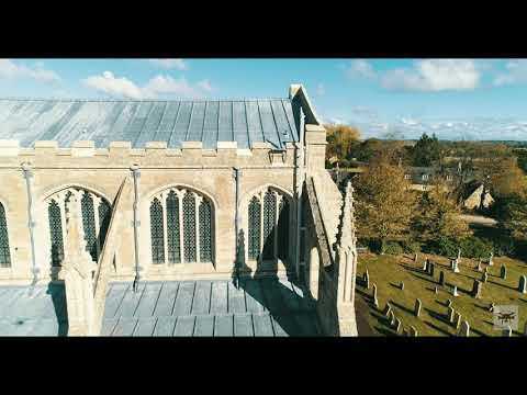 Fotheringhay Church - The Jewel Of Northamptonshire - Best Aerial Content Of This Structure.
