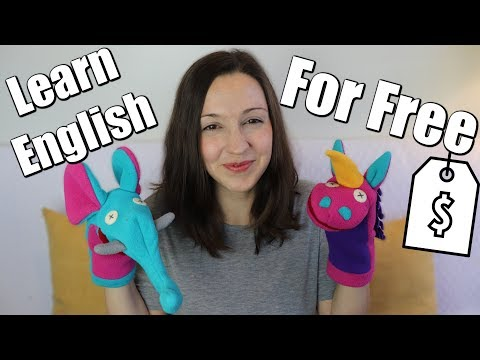 How to Learn English For FREE