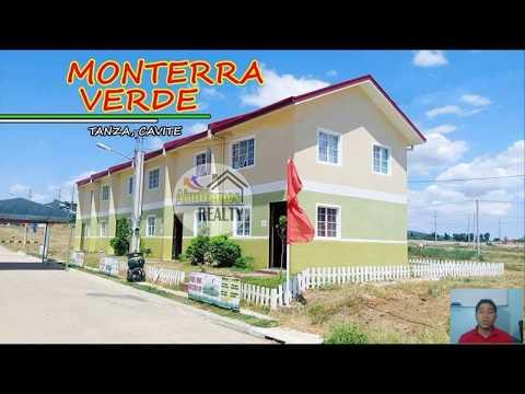 Monterra Verde Subdivision in tanza cavite details