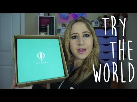 TRY THE WORLD?! *UNIQUE subscription box*