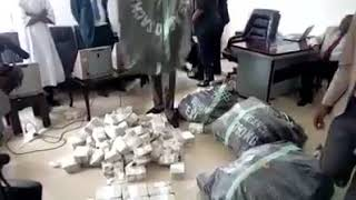 N21bn cash, 400 assault rifles, thousands of PVCs allegedly found in sacked DSS boss, Lawal Daura's